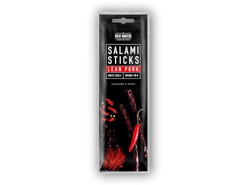 Salami sticks Lean Pork Hot 40g