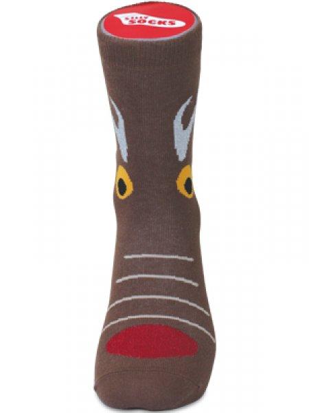 Bláznivé ponožky - jelen