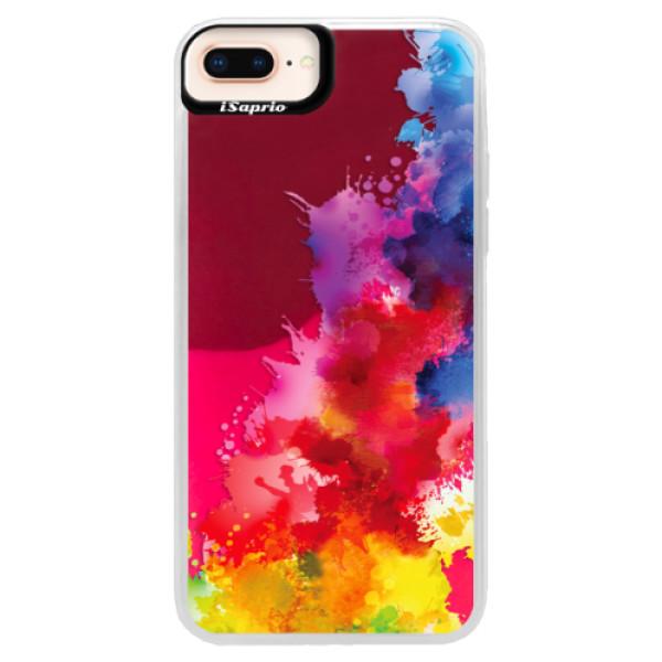 Neonové pouzdro Pink iSaprio - Color Splash 01 - iPhone 8 Plus
