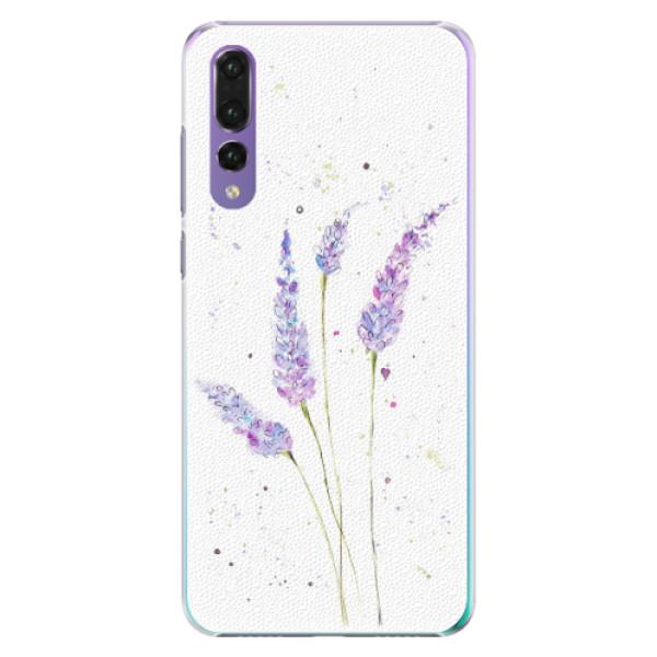 Plastové pouzdro iSaprio - Lavender - Huawei P20 Pro