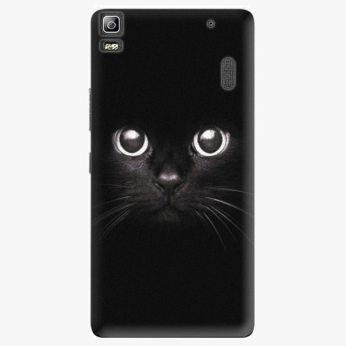 Plastový kryt iSaprio - Black Cat - Lenovo A7000