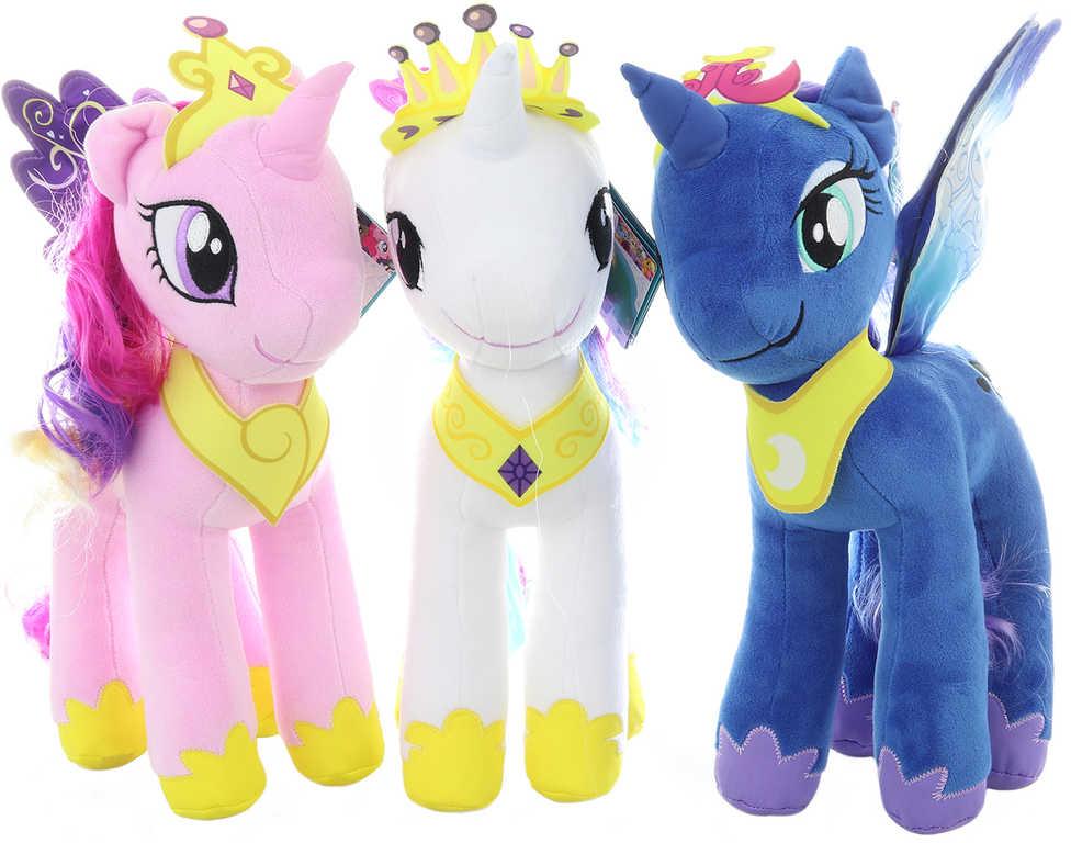 HASBRO PLYŠ My Little Pony koník česací 3 druhy *PLYŠOVÉ HRAČKY*