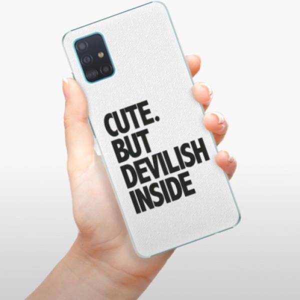 Plastové pouzdro iSaprio - Devilish inside - Samsung Galaxy A51