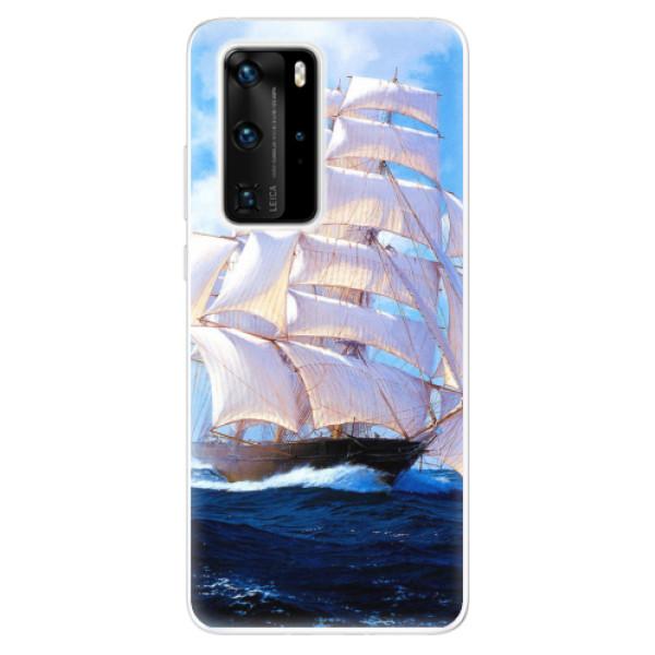 Odolné silikonové pouzdro iSaprio - Sailing Boat - Huawei P40 Pro