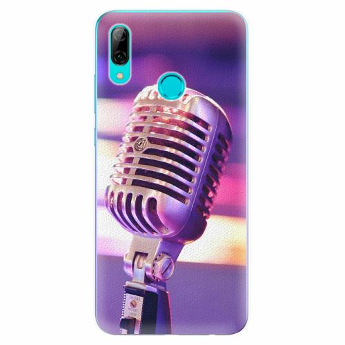 Silikonové pouzdro iSaprio - Vintage Microphone - Huawei P Smart 2019