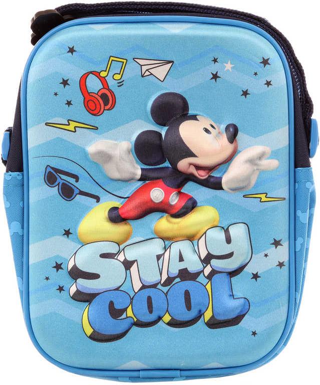 Taštička dětská Disney Mickey Mouse 3D efekt na rameno s popruhem