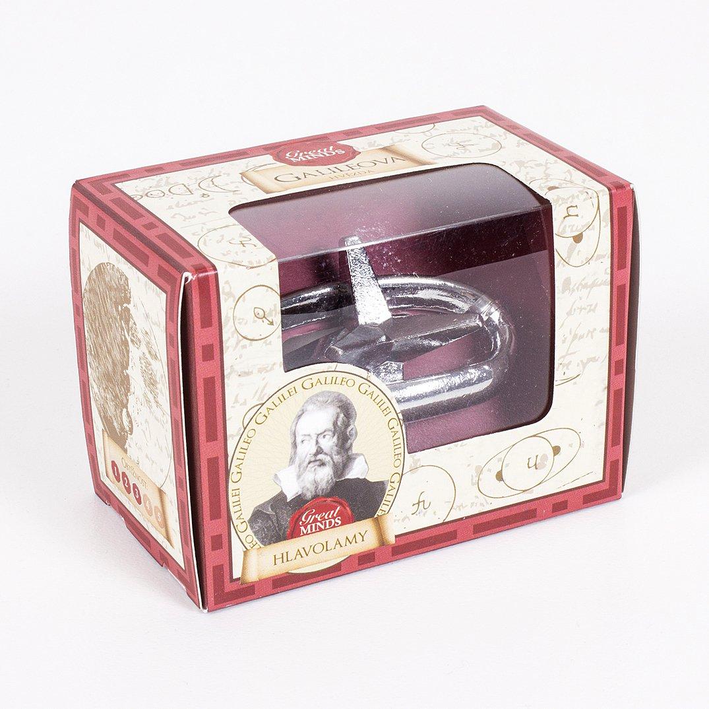 Hlavolamy Great Minds velké - Kovový hlavolam Great Minds - Galileo