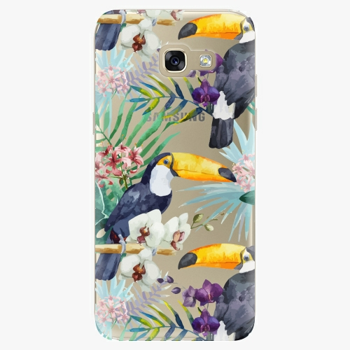 Plastový kryt iSaprio - Tucan Pattern 01 - Samsung Galaxy A5 2017