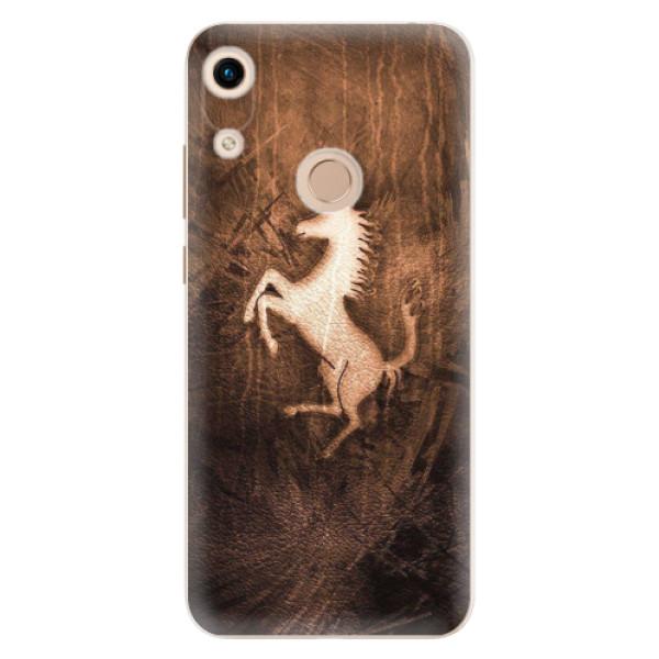 Odolné silikonové pouzdro iSaprio - Vintage Horse - Huawei Honor 8A
