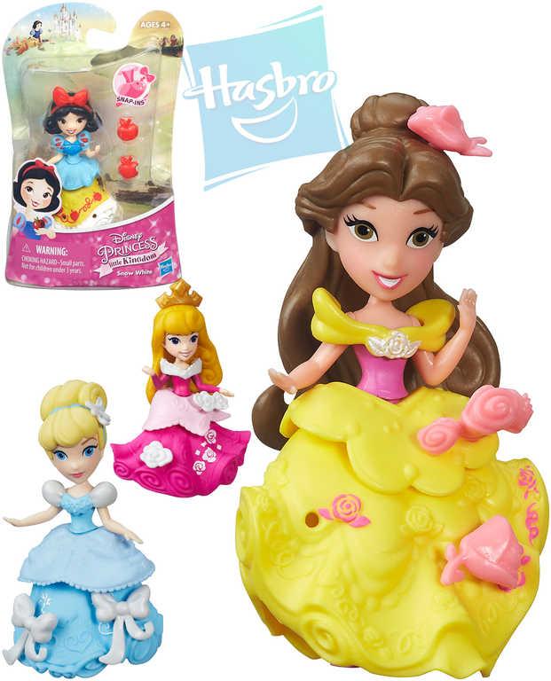 HASBRO Disney Princezny panenka cca 8cm set s doplňky mini 12 druhů
