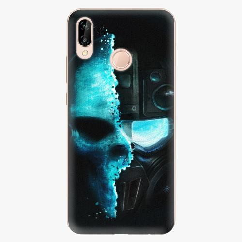 Plastový kryt iSaprio - Roboskull - Huawei P20 Lite