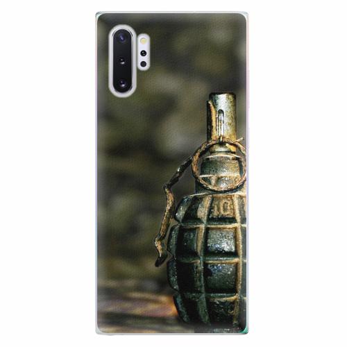 Silikonové pouzdro iSaprio - Grenade - Samsung Galaxy Note 10+