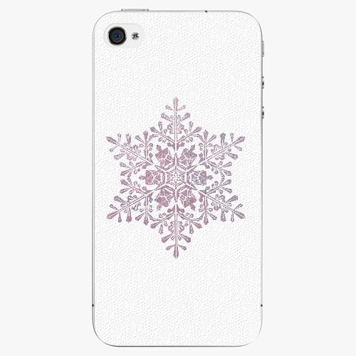 Plastový kryt iSaprio - Snow Flake - iPhone 4/4S