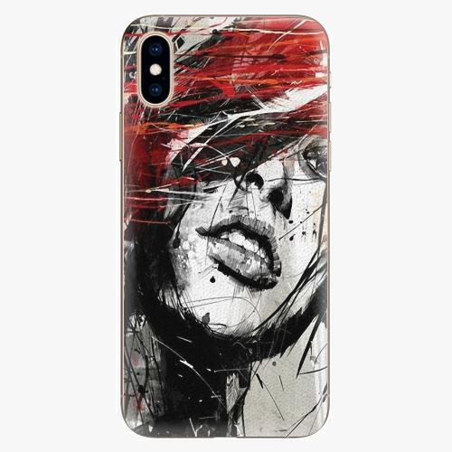Plastový kryt iSaprio - Sketch Face - iPhone XS