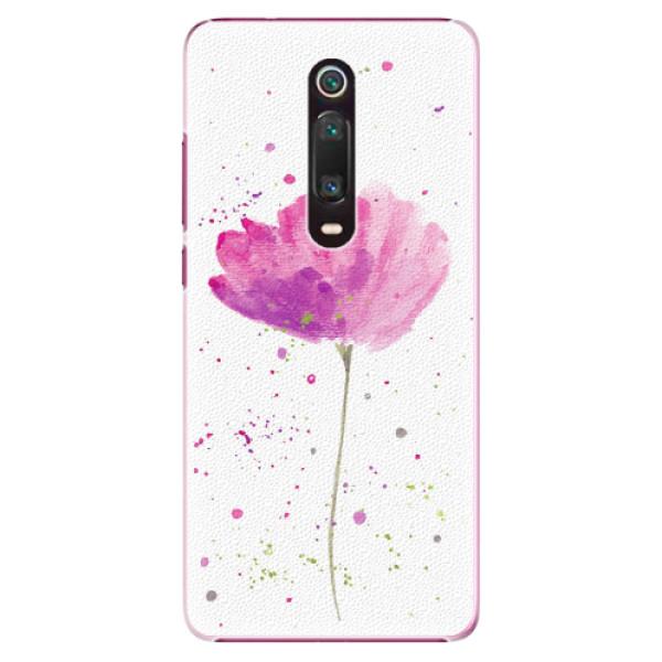 Plastové pouzdro iSaprio - Poppies - Xiaomi Mi 9T