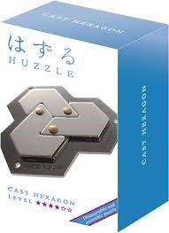 Huzzle Cast - Hexagon