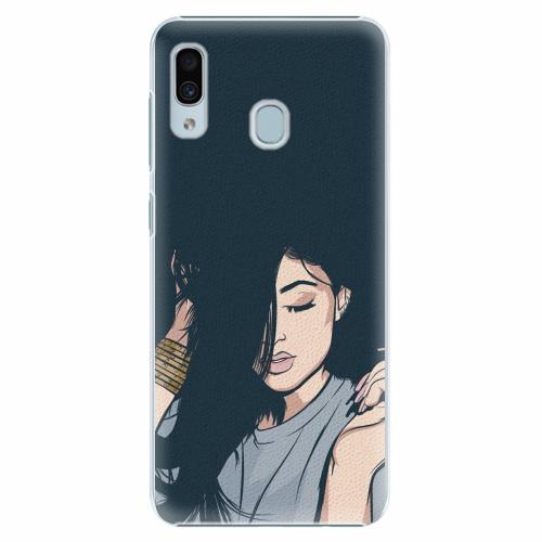 Plastový kryt iSaprio - Swag Girl - Samsung Galaxy A30