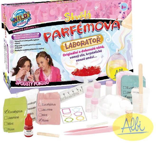 ALBI HRA Laboratoř parfémová set výroba parfémů
