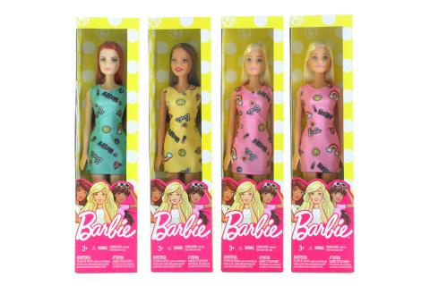 Barbie v šatech T7439