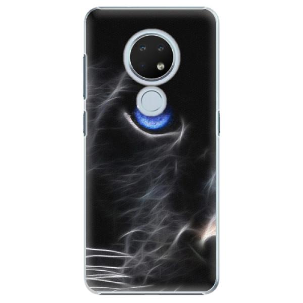 Plastové pouzdro iSaprio - Black Puma - Nokia 6.2