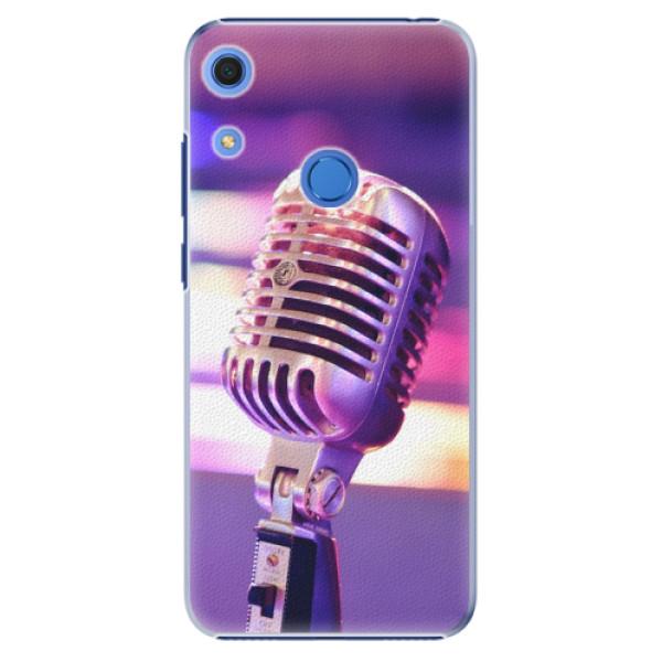 Plastové pouzdro iSaprio - Vintage Microphone - Huawei Y6s