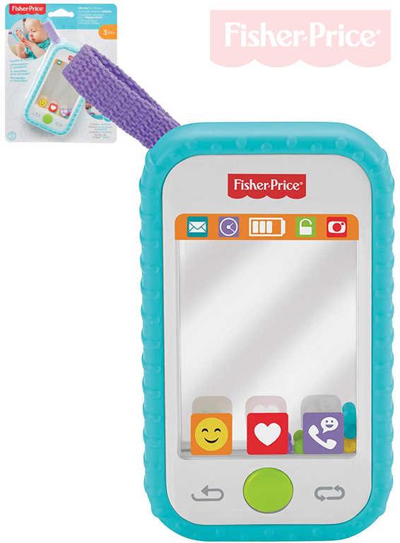 FISHER PRICE Baby selfie chytrý telefon s aktivitami pro miminko plast