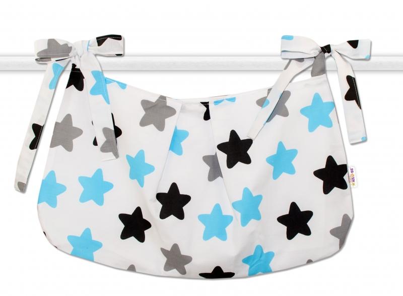 baby-nellys-kapsar-na-hracky-barevne-hvezdicky-modre