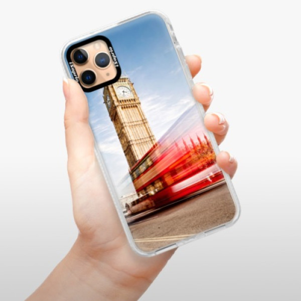 Silikonové pouzdro Bumper iSaprio - London 01 - iPhone 11 Pro Max