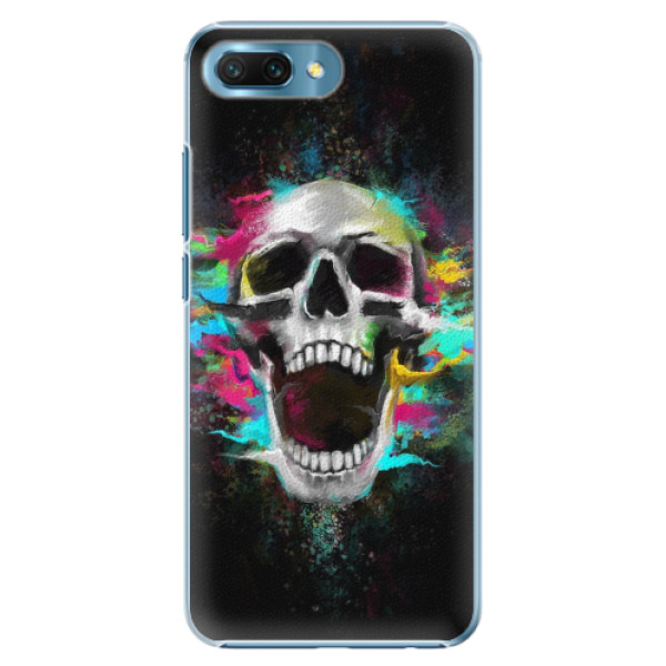 Plastové pouzdro iSaprio - Skull in Colors - Huawei Honor 10