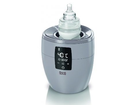 Ohřívač kojeneckých láhví 4v1 - šedý