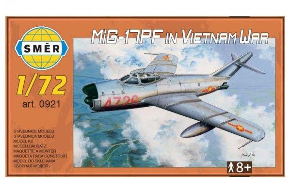 Model MiG-17PF in Vietnam War 1:72 v krabici 14 x 25 x 4 cm