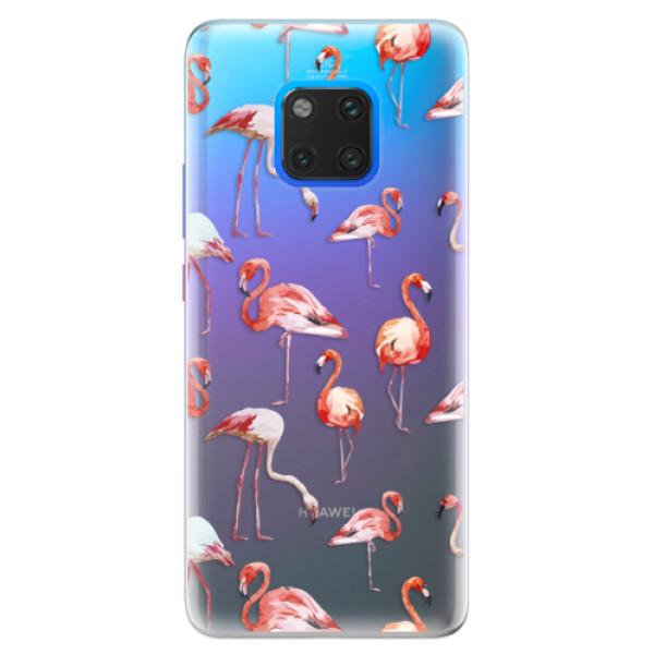 Silikonové pouzdro iSaprio - Flami Pattern 01 - Huawei Mate 20 Pro