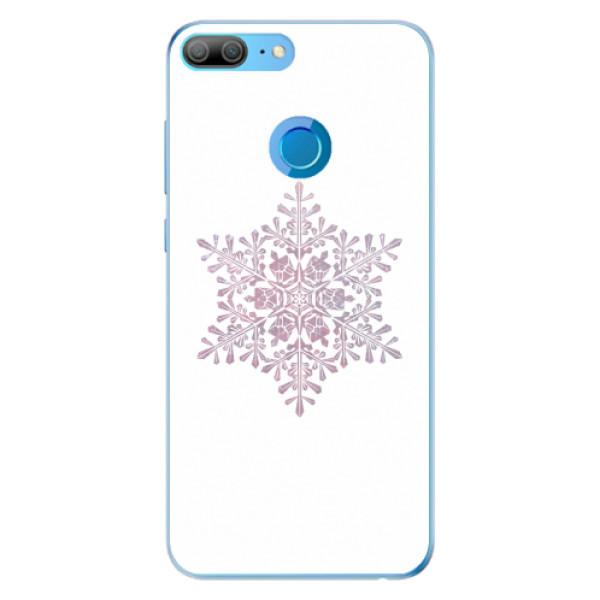 Odolné silikonové pouzdro iSaprio - Snow Flake - Huawei Honor 9 Lite