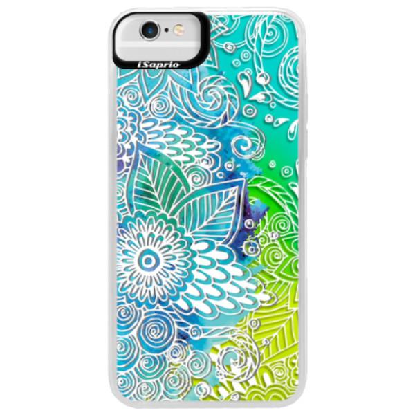 Neonové pouzdro Blue iSaprio - Lace 03 - iPhone 6 Plus/6S Plus