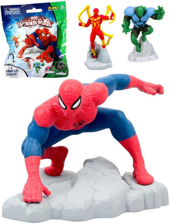 Spiderman sáček s figurkou na podstavci s překvapením různé druhy