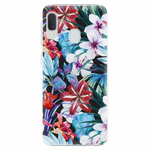 Plastový kryt iSaprio - Tropical Flowers 05 - Samsung Galaxy A20e
