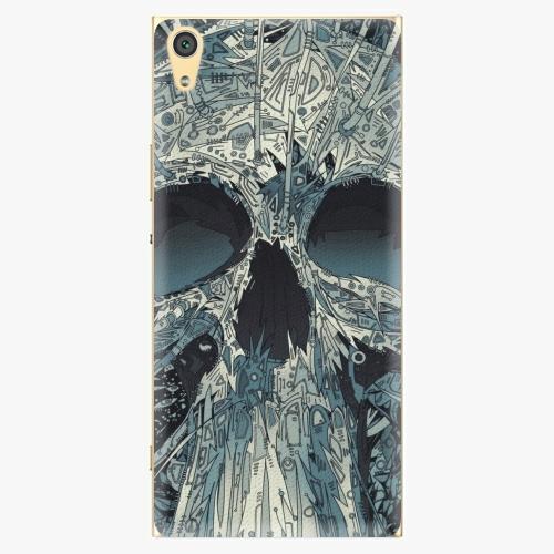 Plastový kryt iSaprio - Abstract Skull - Sony Xperia XA1 Ultra