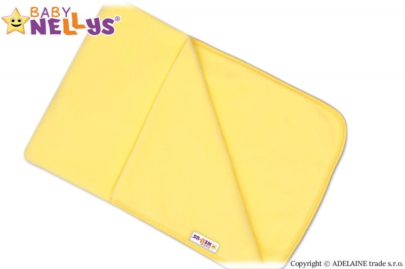 Deka/dečka polar Feel Baby Nellys ® - žlutá