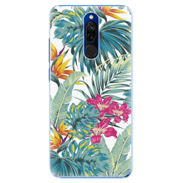 Plastové pouzdro iSaprio - Tropical White 03 - Xiaomi Redmi 8