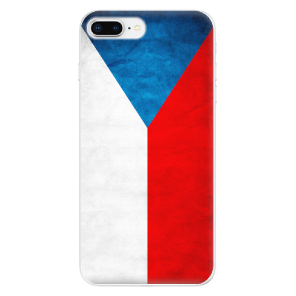 Odolné silikonové pouzdro iSaprio - Czech Flag - iPhone 8 Plus