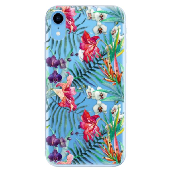 Odolné silikonové pouzdro iSaprio - Flower Pattern 03 - iPhone XR
