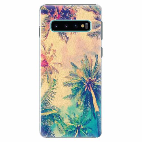 Plastový kryt iSaprio - Palm Beach - Samsung Galaxy S10