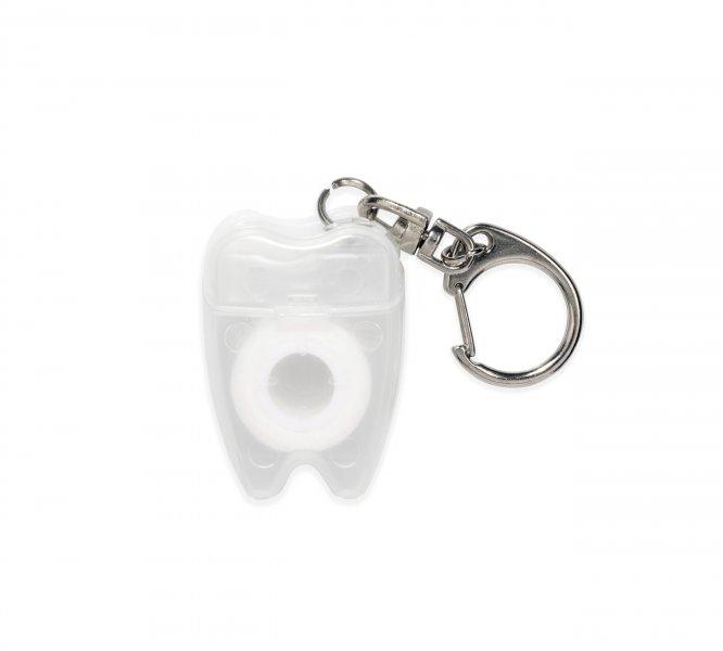 Klíčenka - dentální niť