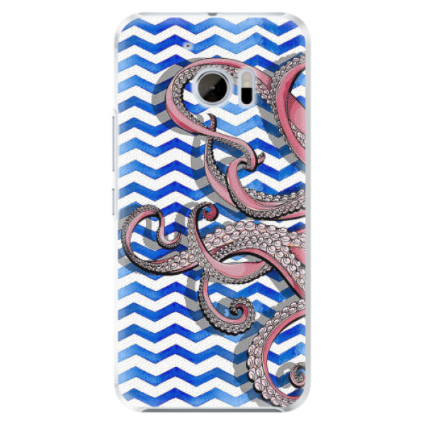 Plastové pouzdro iSaprio - Octopus - HTC 10