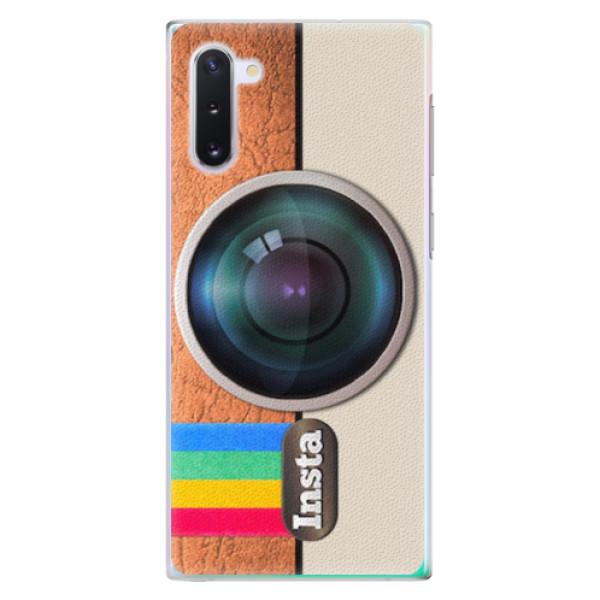 Plastové pouzdro iSaprio - Insta - Samsung Galaxy Note 10