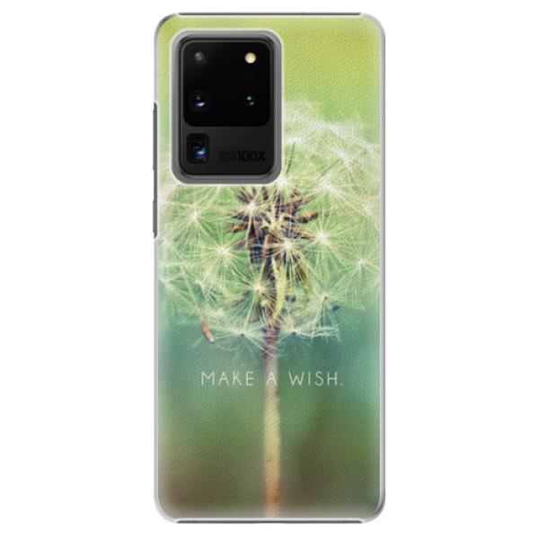 Plastové pouzdro iSaprio - Wish - Samsung Galaxy S20 Ultra