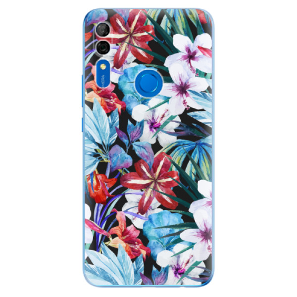 Odolné silikonové pouzdro iSaprio - Tropical Flowers 05 - Huawei P Smart Z