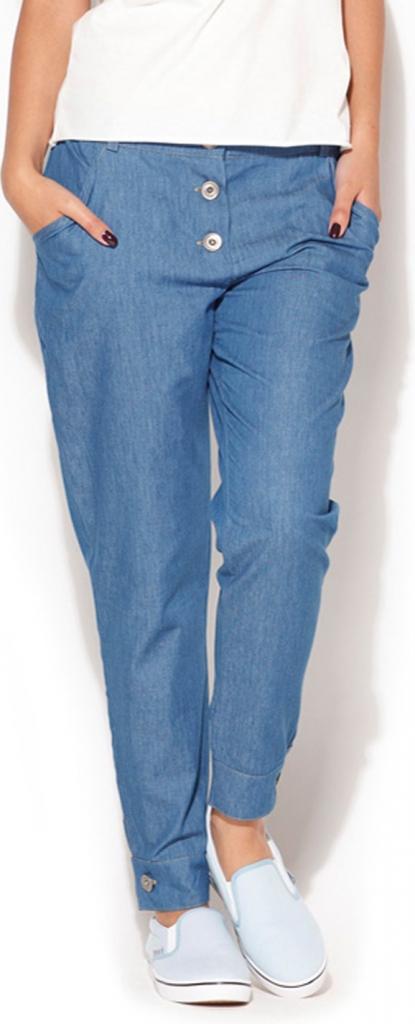Kalhoty dámské K163 - Katrus - Tmavě