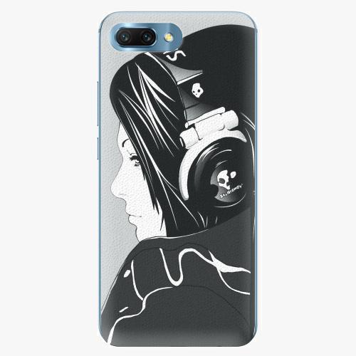 Plastový kryt iSaprio - Headphones - Huawei Honor 10