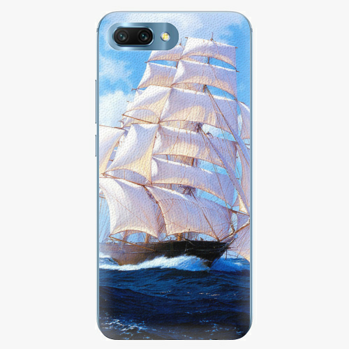 Plastový kryt iSaprio - Sailing Boat - Huawei Honor 10
